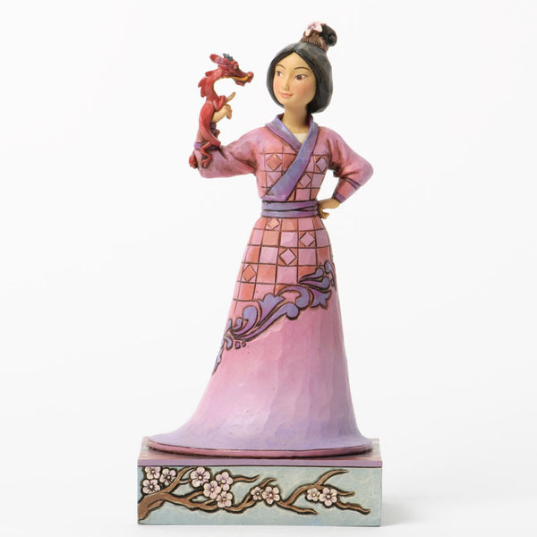 Jim Shore For Enesco Disney Traditions Mulan With Mushu