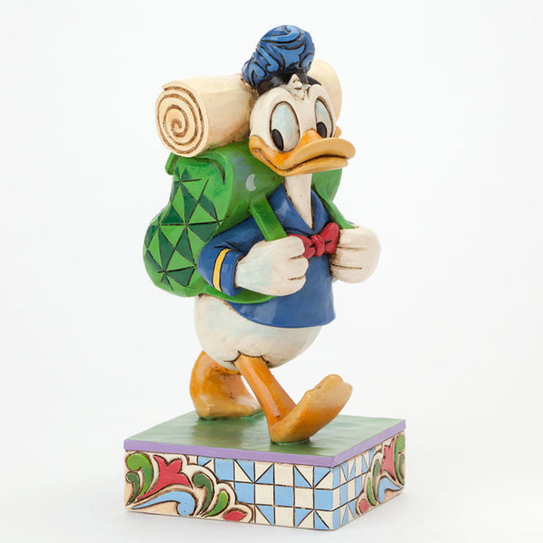 Jim Shore Disney Traditions Donald Duck Hiking Figurine