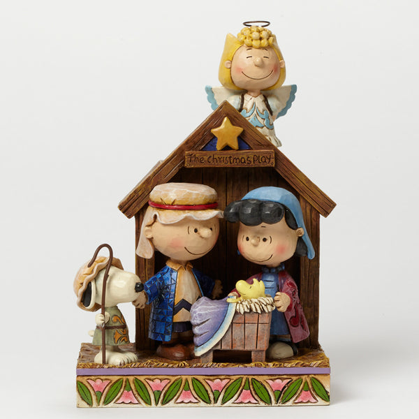 Jim Shore Peanuts Collection Peanuts Christmas Pageant