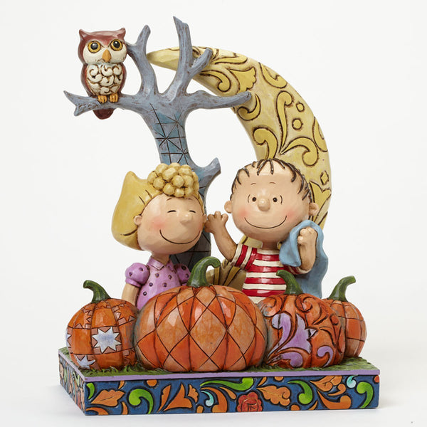 Jim Shore Peanuts Collection Linus Amp Sallywaiting For The