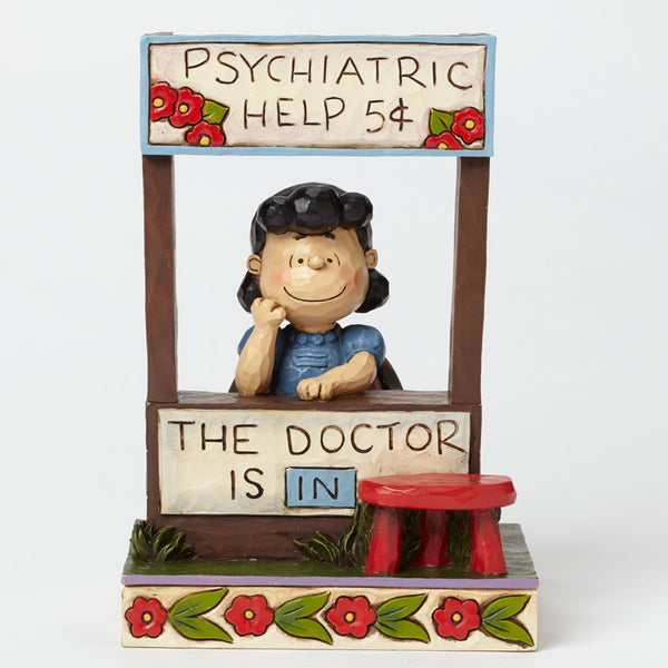 Jim Shore Peanuts Collection Lucy The Dr Doctor Is In