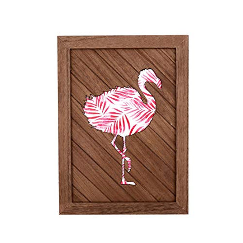 DEI 12935 Flamingo Layered Wall Sign