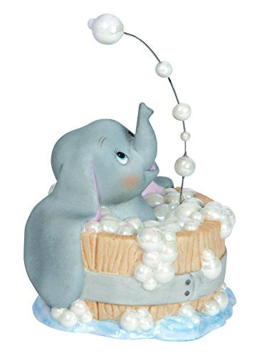Precious Moments Disney Dumbo In Tub Figurine Hour Loop