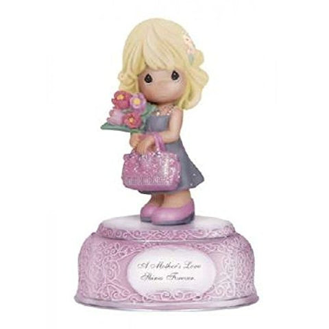 Precious Moments A Mother's Love Shines Forever Musical Figurine