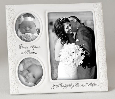 775 Then And Now Wedding Frame Holds 2 25x3 And 1 4x6 Photo By