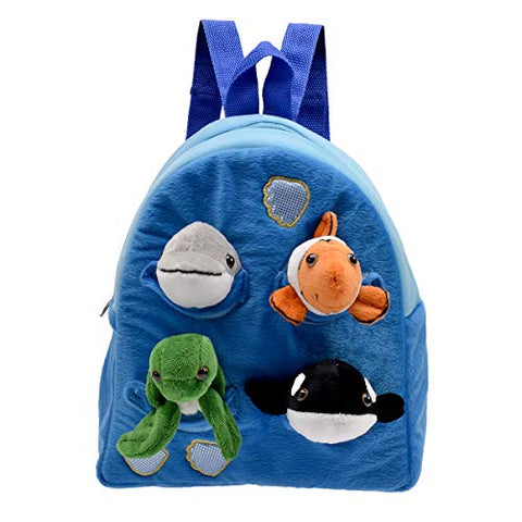 "Ocean Animal Backpack 11"" by Unipak"