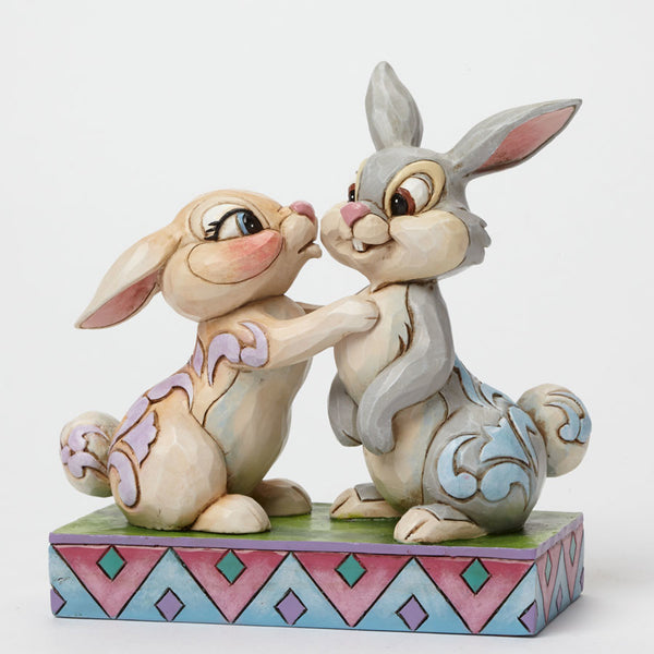 Jim Shore Disney Traditions Bambi Thumper And Miss Bunny