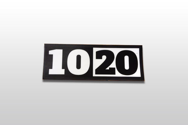 10-20 Lifestyle Sticker
