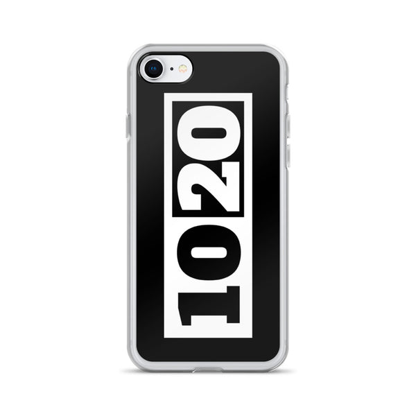 iPhone Case 6/7/8/X/XS (Black/White)