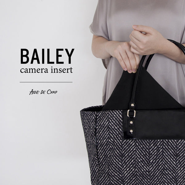 Introducing our Bailey camera insert pouch