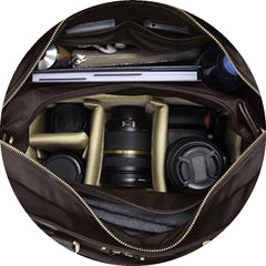Spacious compartments - Aide de Camp camera bags