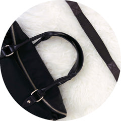 Comfortable straps for handbags by Aide de Camp