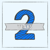 Celebrating 2 Years Online