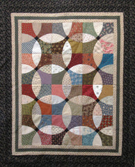 Gretchen's Flowering Snowball Quilt