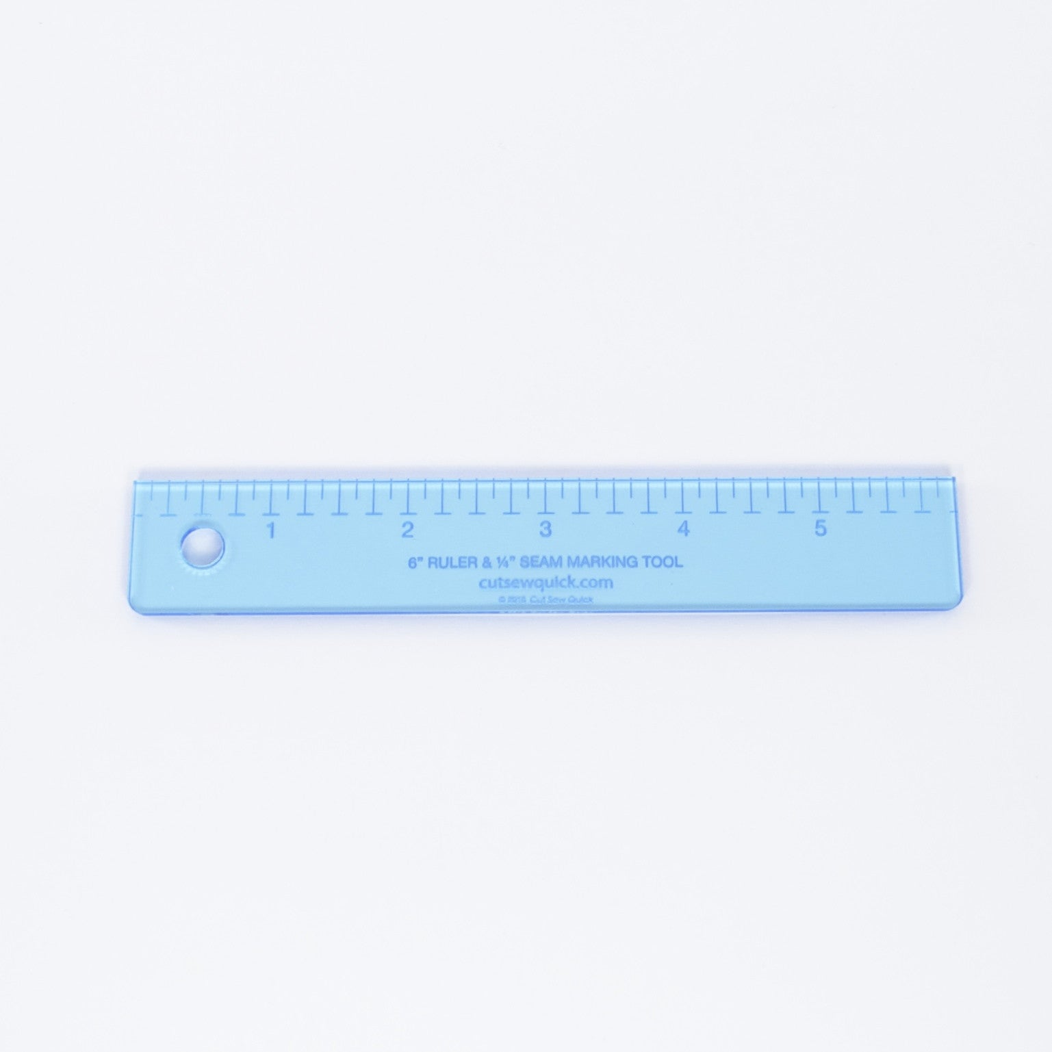 "6"" Ruler and ¼"" Seam Marking Tool"