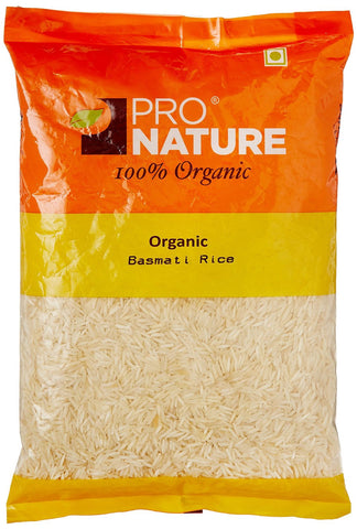 Pro Nature Organic Basmati Rice - White 1kg