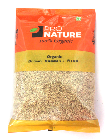 Pro Nature Basmati Rice (Brown) 1 Kg - PRO NATURE ORGANIC FOODS