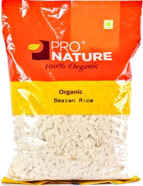 Pro Nature Organic Beaten Rice (Medium Poha) 250g/500g/1kg