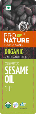 Pro Nature Organic Cold-Pressed Sesame Oil 1 ltr