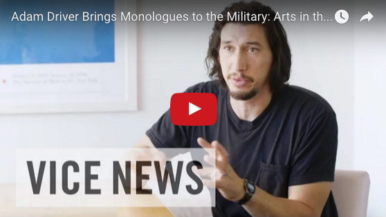 USMC Veteran Adam Driver (Kylo Ren) On Bringing Theater to the Military