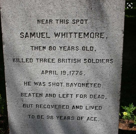Samuel Whittemore: The Minuteman Who Couldn't Be Killed