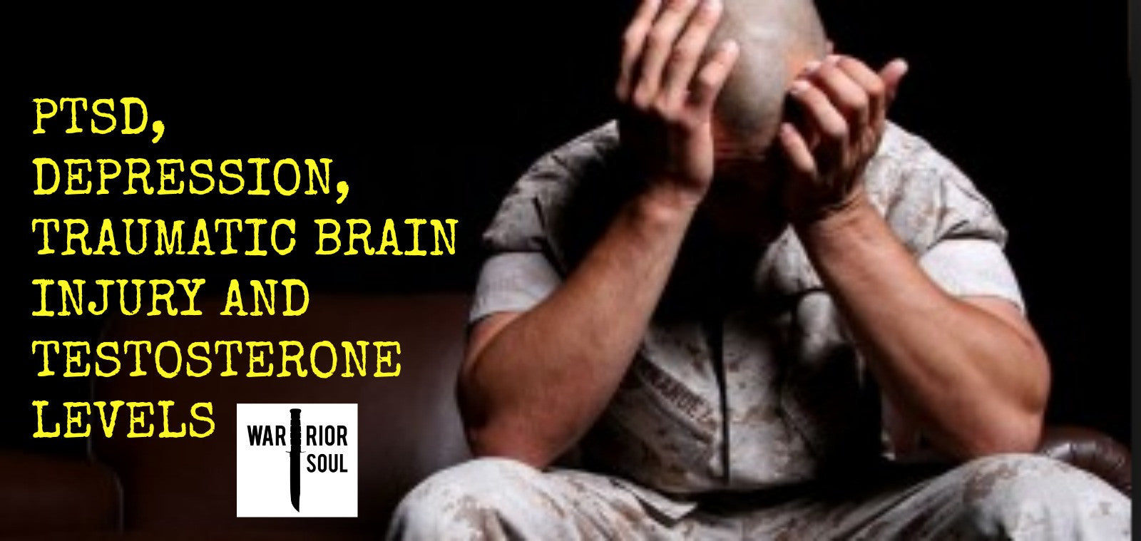 Is Low Testosterone Enhancing the Effects of PTSD and TBI?