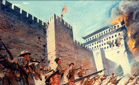 Siege of Peking, Boxer Rebellion