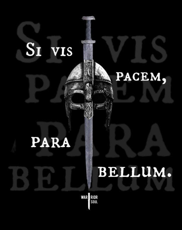 if you want peace prepare for Define si vis pacem, para bellum: if you want peace, prepare for war.