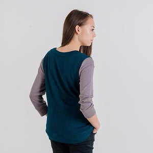 Gillian V-Neck Knit Vest (Evergreen)