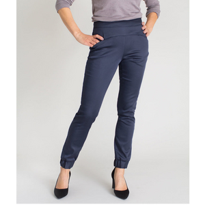 Kristina II Cuffed Pants (Navy)