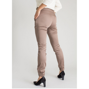 Kristina II Cuffed Pants (Tan)