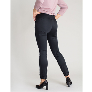 Kristina II Cuffed Pants (Black)