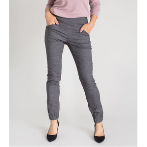 Kristina Cuffed Pants (Grey)