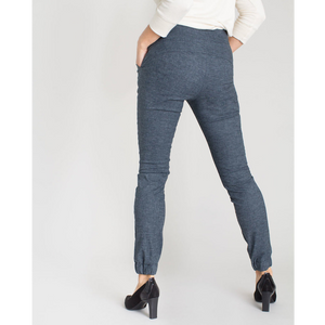 Kristina Cuffed Pants (Navy)