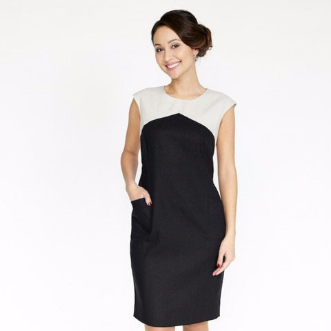 Dagny Dress (Black/Smoke)