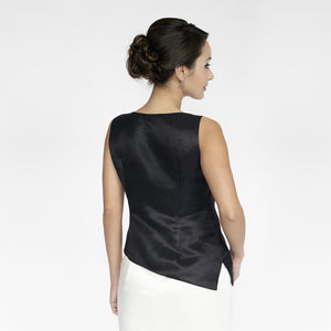 Wallis Evera's Cassidy Tank Top - Hemp Silk Cotton (Front View)
