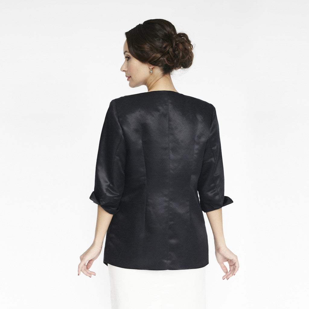 Wallis Evera's Emma Jacket - Hemp Silk Cotton (Front View 2)