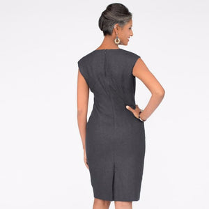 Wallis Evera's Lila Dress - Hemp Lyocell (Back View)