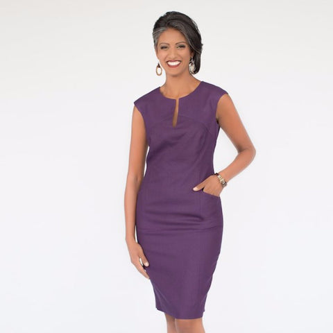Lila II Dress (Plum)