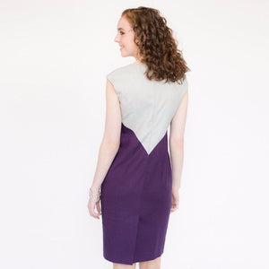 Wallis Evera's Dagny Dress - Hemp Lyocell (Back View)