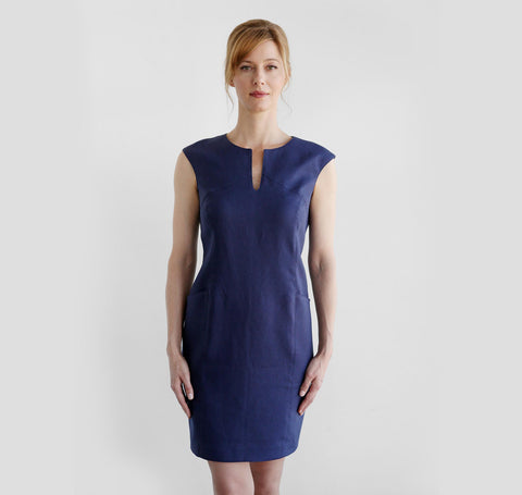 Lila II Dress (Navy)