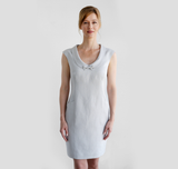Wallis Evera's Whitney Dress - Hemp Lyocell (Front View)