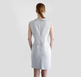 Wallis Evera's Whitney Dress - Hemp Lyocell (Back View)