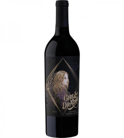 GIRL & DRAGON MALBEC 750ML