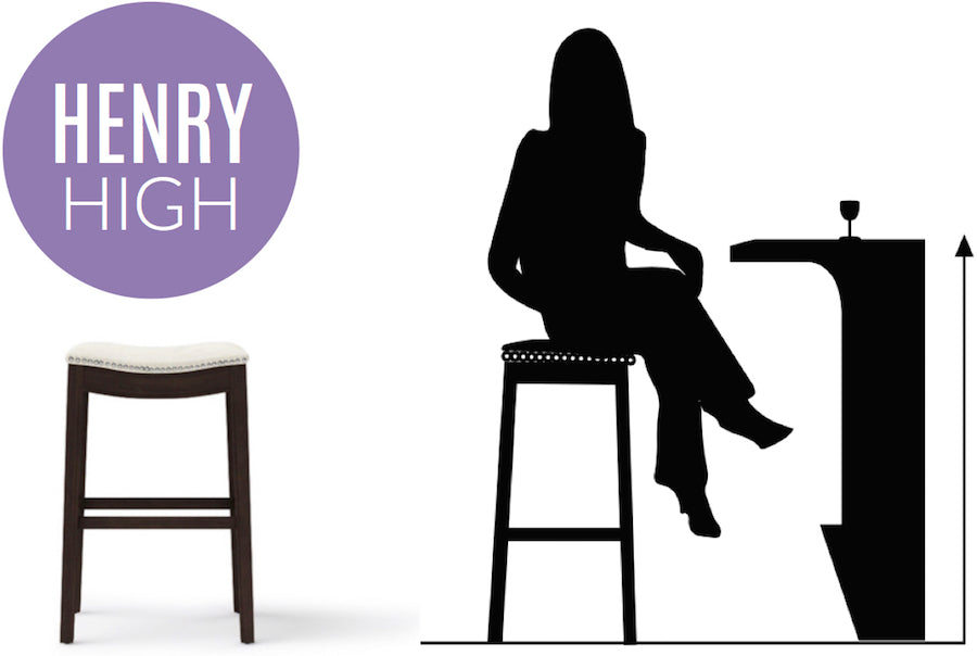 henry high - bar stool guide