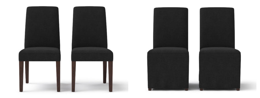 Brosa's Grace dining chair in night black