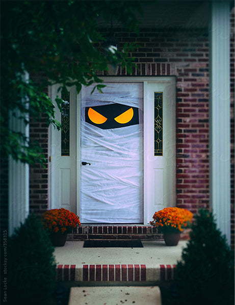 Sean Locke stocksy halloween door