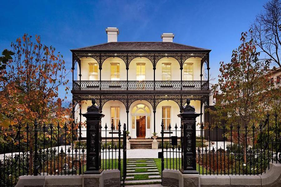 Shannon Bennett South Yarra home