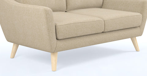 Ava Sofa Natural Wooden Legs