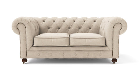 Camden Chesterfield 3 Seater Sofa and Armchair Set